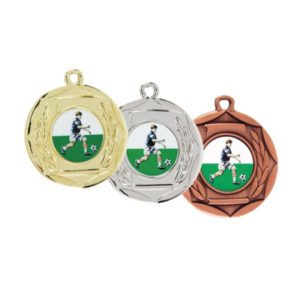 Economy Medal Frosted Back 50mm
