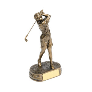 Female Golfer Award Trophy