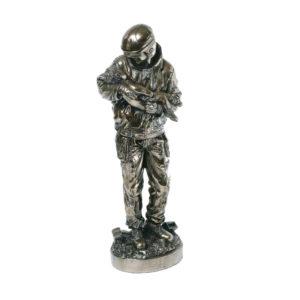 Genesis Fireman Bronze Figure