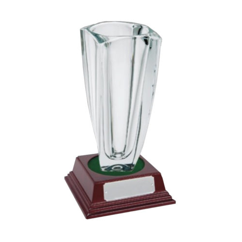 Glass Award Crystal 32.5cm