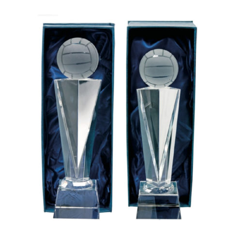 Glassware Football Award