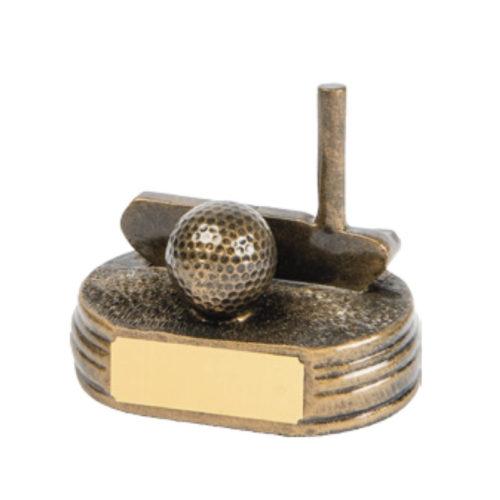 Golf Putter and Ball Award