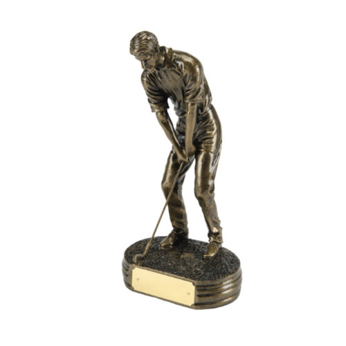 Golfer Putting Award Trophy