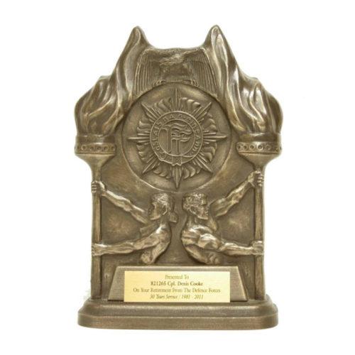 Irish Army FF Crest Presentation Award