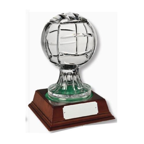 Large-Glass-Football-Award