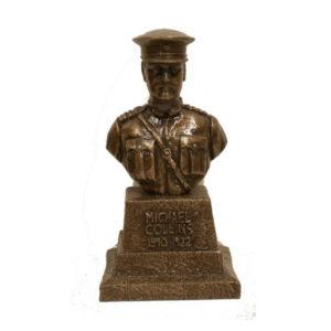 Michael Collins Large Bronze Bust